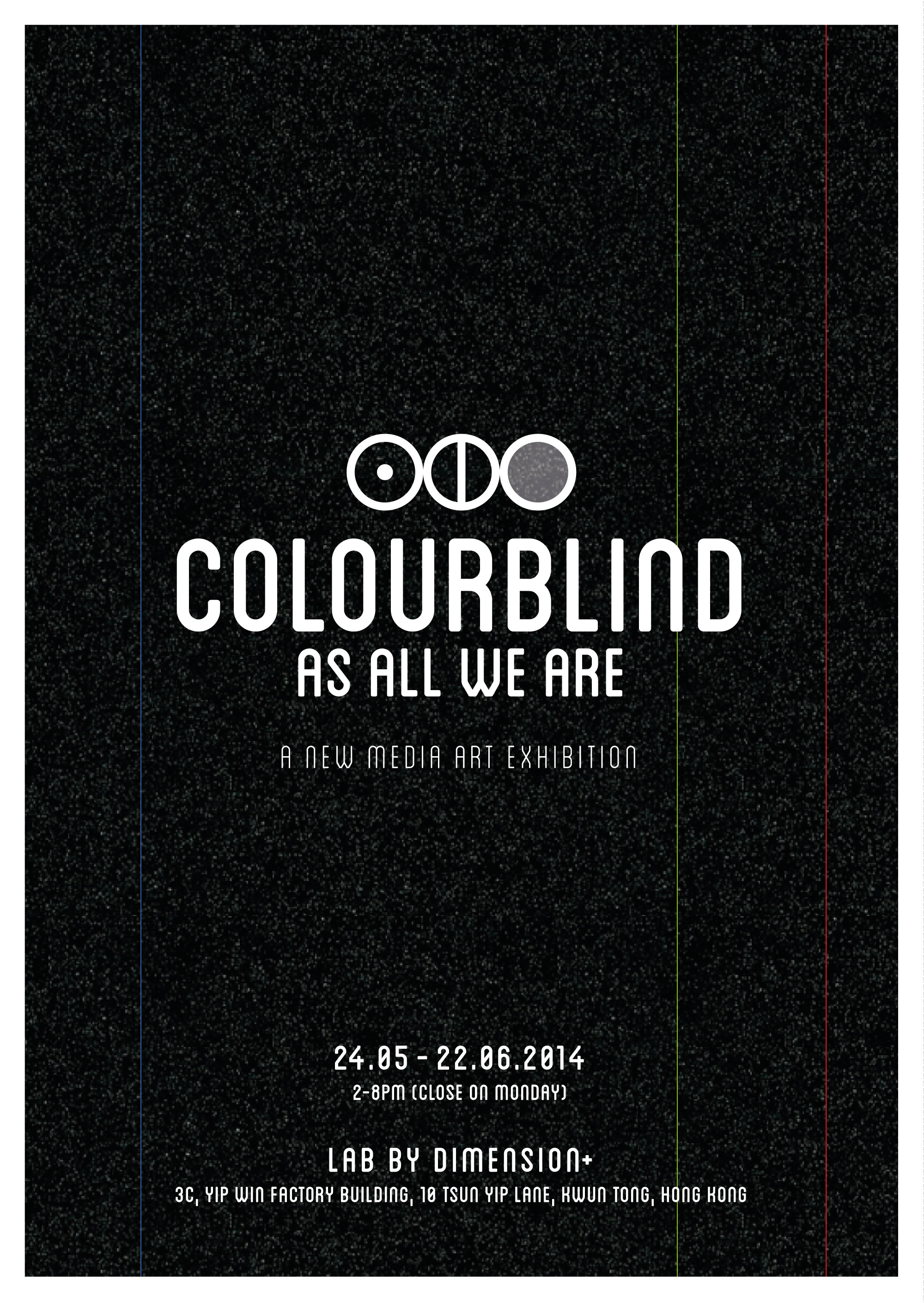 Book for color blindness - Colourblind As All We Are Front