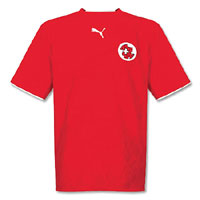 Switzerland Jersey Red