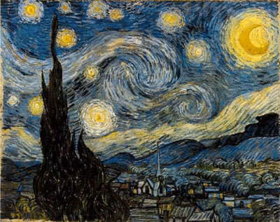 Van Gogh - Starry Night - Protanomal