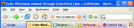 Firefox Extension Colorful Tabs