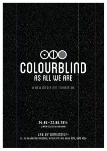 Colourblind as all we are - front