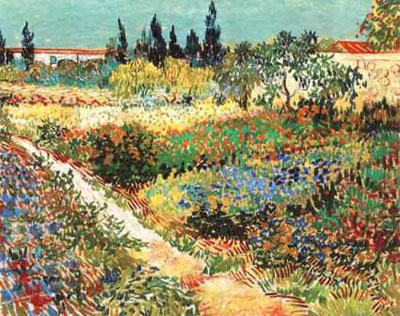 Van Gogh - Flowering Garden - Normal
