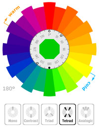 Color Scheme Generator - Color Wheel