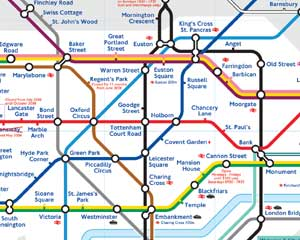 Subway Map London - Part
