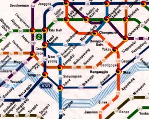 Subway Map Seoul - Part