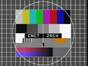 TV Test Pattern CNCT ZRCH